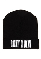 Marcelo Burlon County of Milan Sajama wool beanie hat