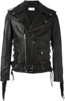 Faith Connexion fringed biker jacket