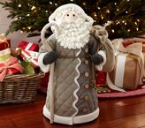 Pottery Barn Kids Rustic Plush Santa