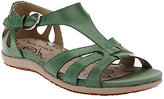 Bare Traps BareTraps Leather Multi T-strap Sandals w/ Cut Outs - Rosely
