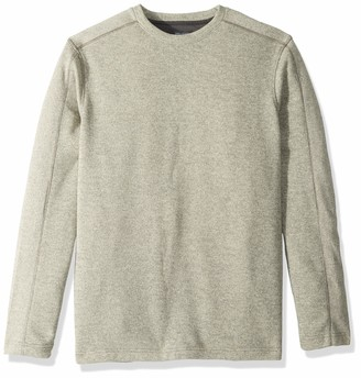Van Heusen Men's Tall Flex Long Sleeve Colorblock Crewneck Pullover Sweater