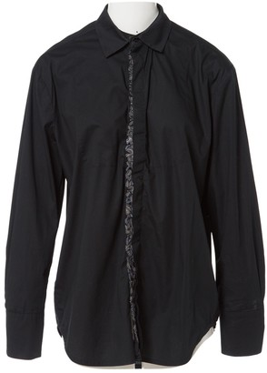 A.F.Vandevorst Black Cotton Top for Women