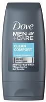 Dove Men+Care Clean Comfort Body & Face Wash 55ml