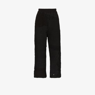 By Walid Jenny Cropped Cotton Trousers