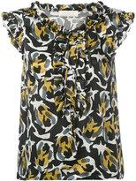 L'Autre Chose Rouches Flakes blouse - women - Silk - 40