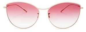 Oliver Peoples Women's Rayette Cat Eye Sunglasses, 60mm