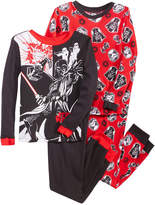 Star Wars 4-Pc. Cotton Pajama Set, Little Boys (4-7) & Big Boys (8-20)