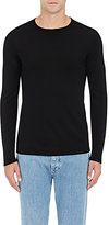 Barneys New York MEN'S WOOL FINE-GAUGE KNIT SWEATER