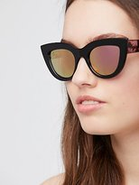 Free People South Beach Cat Eye Sunnies