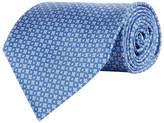 Stefano Ricci Silk Geometric Floral Printed Tie
