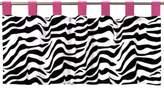JoJo Designs Sweet Funky Zebra Window Valance in Pink