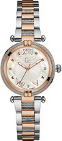 Gc Y18002L1 ladychic rose-gold watch