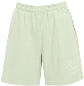 Sporty & Rich Cotton Sweat Shorts