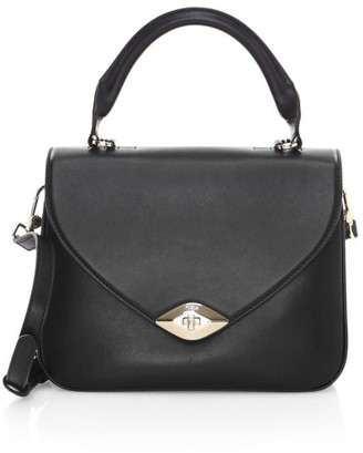 Furla Small Eye Leather Top Handle Bag