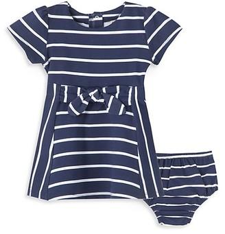 Habitual Baby Girl's 2-Piece A-Line Stripe Dress & Bloomers Set