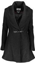 Kensie Black Toggle Coat
