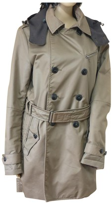 Peuterey Beige Cotton Coat for Women