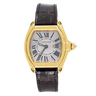 Cartier Roadster Brown Yellow gold Watches