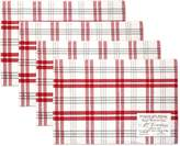 +Hotel by K-bros&Co Hotel Plaid 'n Patch Placemat 4-pk.