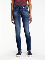 Lee Scarlett Regular Waist Skinny Jeans, Night Sky