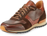Magnanni Leather & Suede Sneaker