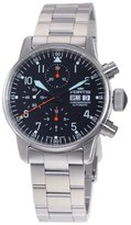 Fortis Men's 597.11.11M Flieger Automatic Chronograph Black Dial Watch