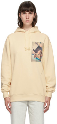 Acne Studios Off-White Lydia Blakeley Dog Patch Hoodie