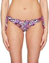 GUESS Women's Astract Cheeky Bikini Bottom