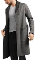 Hanro Davide Reversible Cotton Jersey Robe