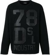 Diesel printed sweatshirt - men - Cotton - S