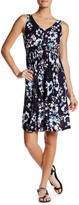 Joe Fresh Double-V Floral Dress