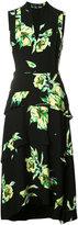 Proenza Schouler tiered floral print dress - women - Silk - 6