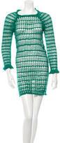 Etoile Isabel Marant Open Knit Mini Dress