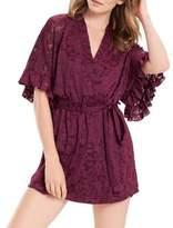 Josie Patterned Wrap Robe