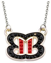 "WWE Women's Bella Twins Logo Bling Pendant with Chain (18"" + 2"" ext.)"