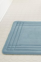Amrapur GeoPlex Memory Foam Bath Mat - Blue