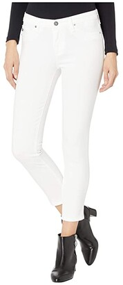 AG Jeans Prima Crop in White (White) Women's Casual Pants