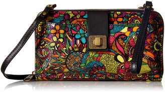 Sakroots Women's Artist Circle Cross Body Handbag
