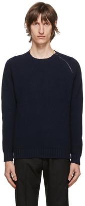 Belstaff Navy Fishermans Sweater