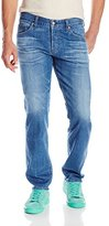 AG Adriano Goldschmied Men's Graduate Tailored Leg Selvage Denim