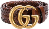 Gucci Interlocking GG buckle belt - men - Calf Leather - 100