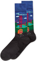 Hot Sox Men's Golden Gate Bridge Slacks Socks