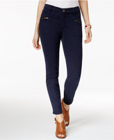Style&Co. Style & Co Zippered-Pocket Skinny Pants, Created for Macy's
