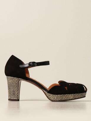 Chie Mihara Macel Sandal In Suede