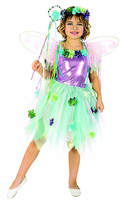 Rubie's Costume Co Blue & Purple Garden Fairy Dress-Up Set - Toddler & Kids