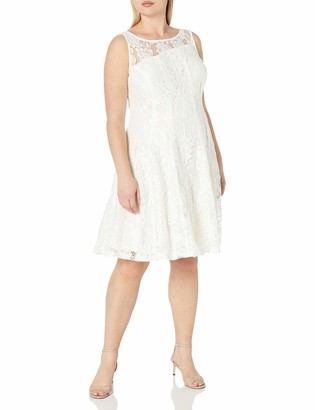 Julian Taylor Women's Seam Down Lace Dress