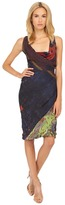 Vivienne Westwood Les Orientales Fluid Short Amber Dress