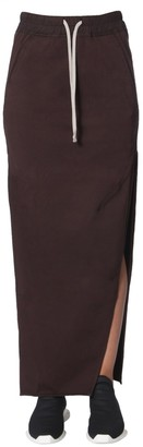 Rick Owens Drawstring Side Slit Skirt