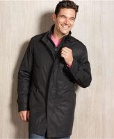 DKNY Coat, Gulfport Black Raincoat Slim Fit