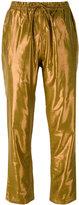 Mes Demoiselles 'Brasier' track pants - women - Polyester/Viscose - 36